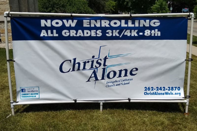 now enrolling at Christ Alone Lutheran School
