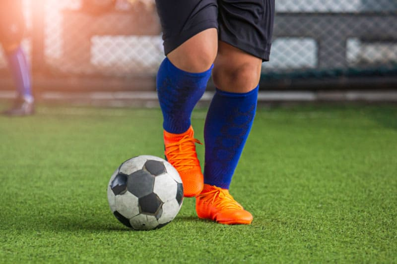soccer-ball-and-shoes
